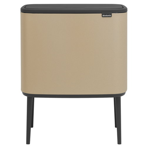 Brabantia Bo Touch bin 11 + 23 L, Sense of Luxury, gold