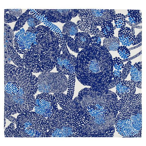 Marimekko Mynsteri keitti�pyyhe, valkoinen - sininen
