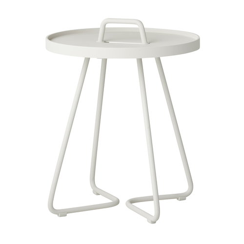 Cane-line On-the-move table, XS, white