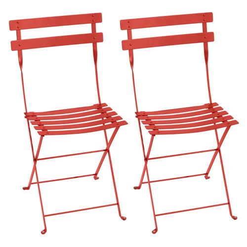 Fermob Bistro Metal tuoli, 2 kpl, capucine