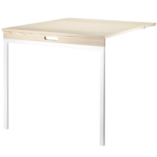 String String folding table, ash - white