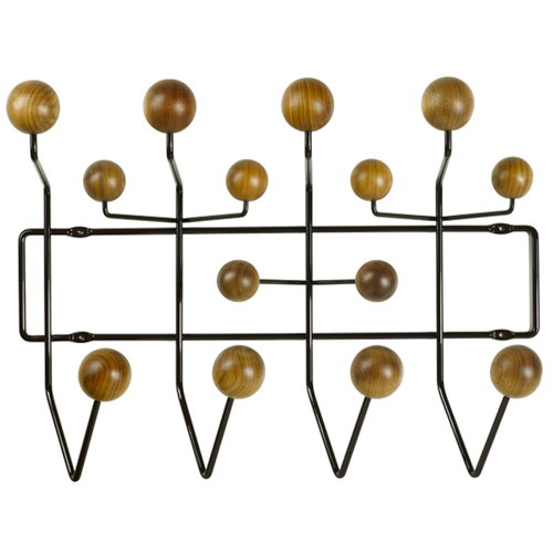 Vitra Hang it all coat rack, chocolate