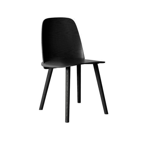 Muuto Nerd tuoli, musta