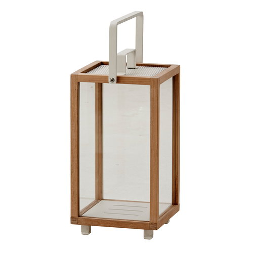 Cane-line Lighthouse lantern, small, teak
