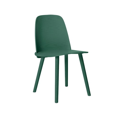 Muuto Nerd chair, green