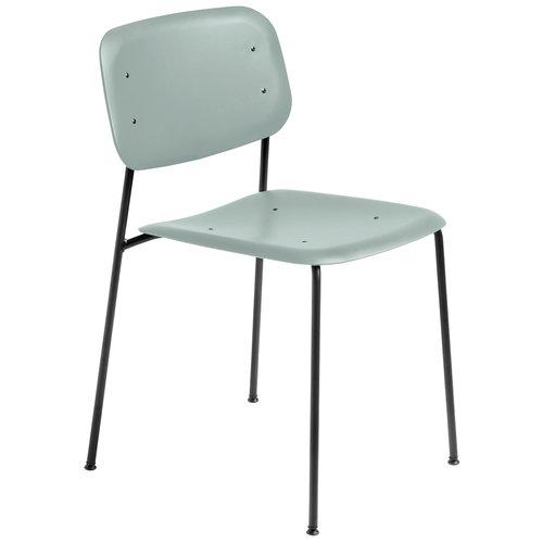 Hay Soft Edge P10 chair, black - dusty green