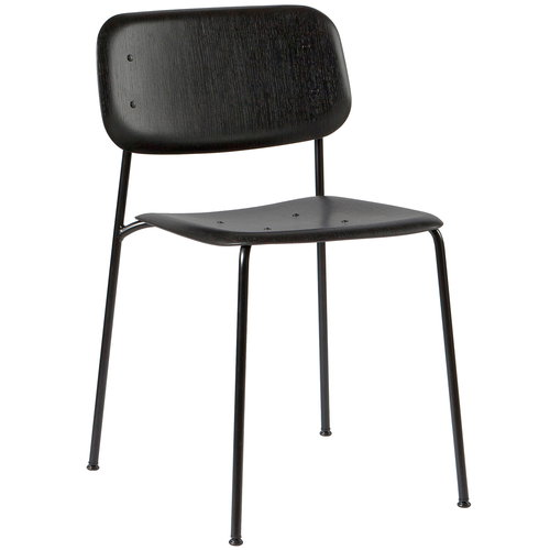 Hay Soft Edge 10 tuoli, musta - soft black