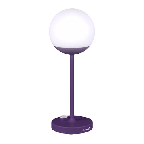 Fermob Mooon! table lamp, aubergine