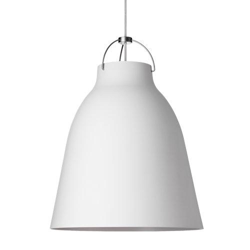 Lightyears Caravaggio P3 pendant, matt white, 6 m cord