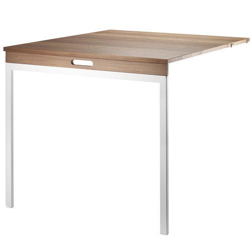 String String folding table, walnut - white