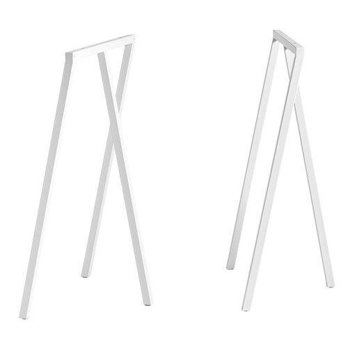 Hay Loop Stand pukkijalat, korkea, valkoinen, 2 kpl