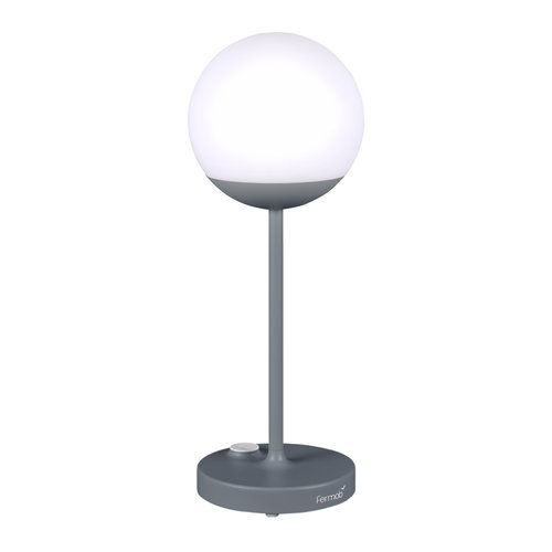 Fermob Mooon! table lamp, storm grey