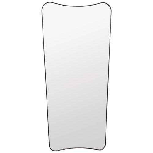 Gubi F.A. 33 mirror, large, black brass