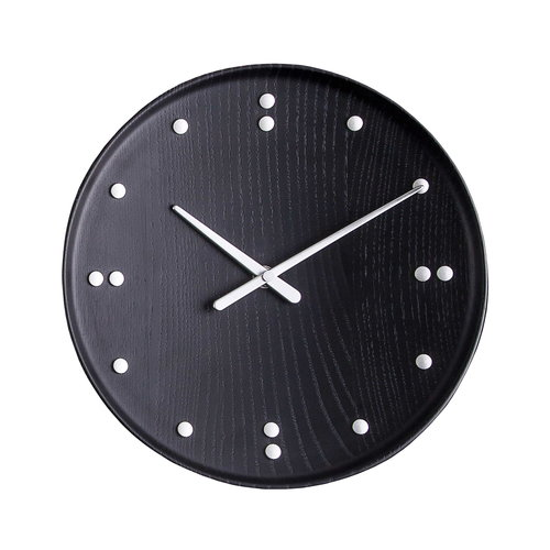 Architectmade FJ Clock sein�kello 25 cm, musta