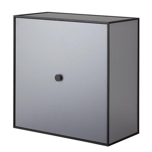 By Lassen Frame 42 box with door, dark grey