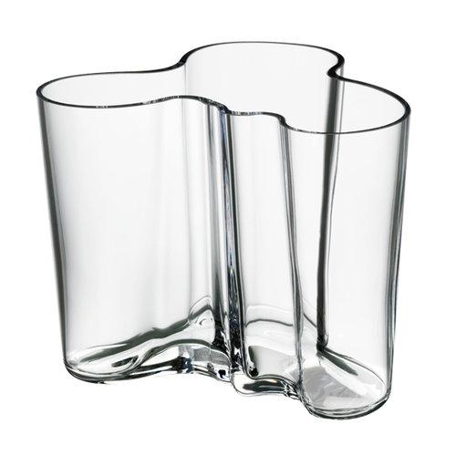 Iittala Vaso Aalto 120 mm, trasparente