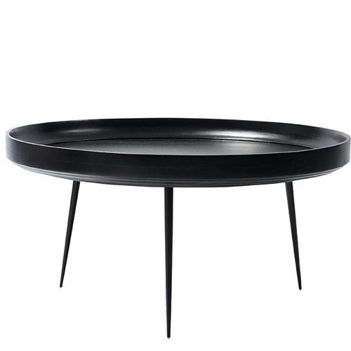 Mater Bowl table, XL, black