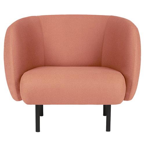 Warm Nordic Cape nojatuoli, punainen