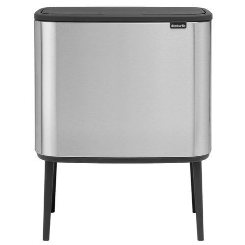 Brabantia Bo Touch bin 11 + 23 L, matt steel