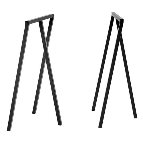 Hay Loop Stand frame, high, black, 2 pcs