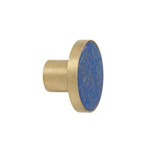 Ferm Living Hook Stone, lapis lazuli, large