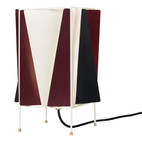 Gubi B-4 table lamp, Chianti red