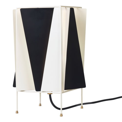 Gubi B-4 table lamp, black - white