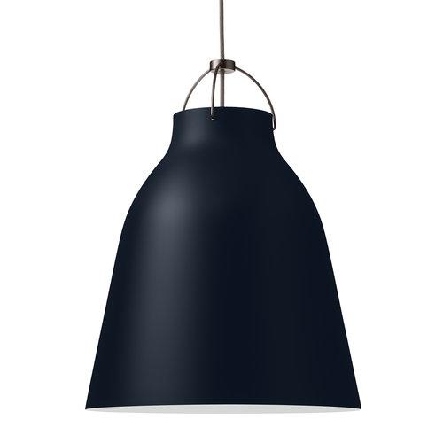 Lightyears Caravaggio P3 pendant, dark ultramarine, 6 m cord