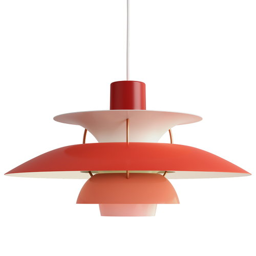 Louis Poulsen PH 5 pendant, red