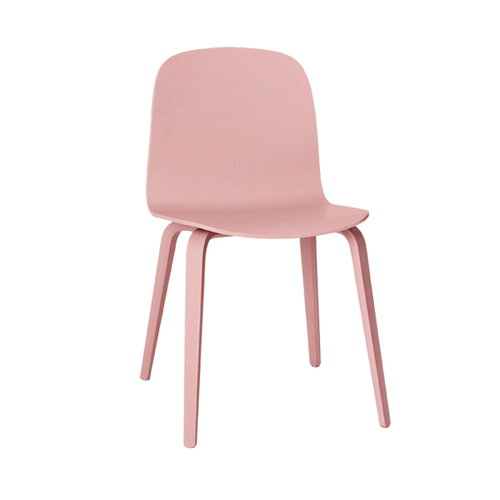 Muuto Visu chair, wood frame, rose