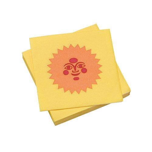 Vitra La Fonda Sun paperiservetti, vaaleankeltainen - oranssi