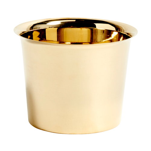 Hay Botanical Family pot, M, brass