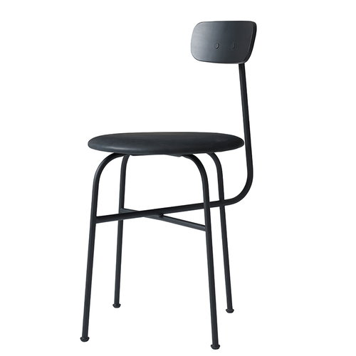 Menu Afteroom chair 4, black, leather