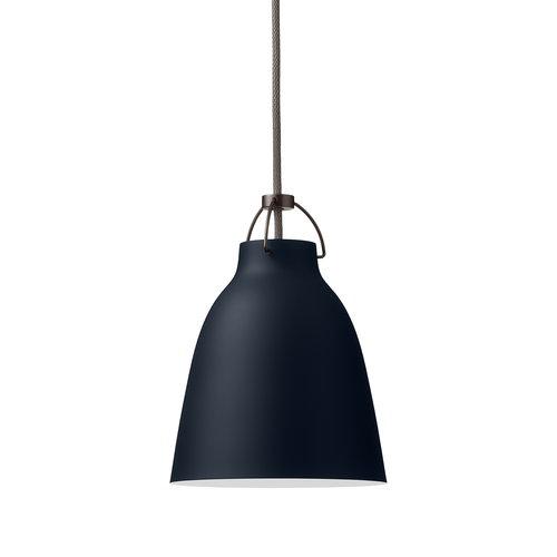 Lightyears Caravaggio P1 pendant, dark ultramarine, 3 m cord