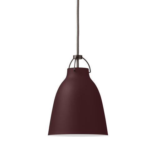Lightyears Caravaggio P1 pendant, dark sienna, 3 m cord