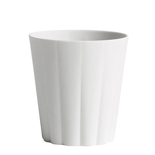 Hay Iris mug, round, off-white