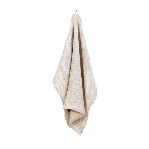 Lapuan Kankurit Terva hand towel, white-linen