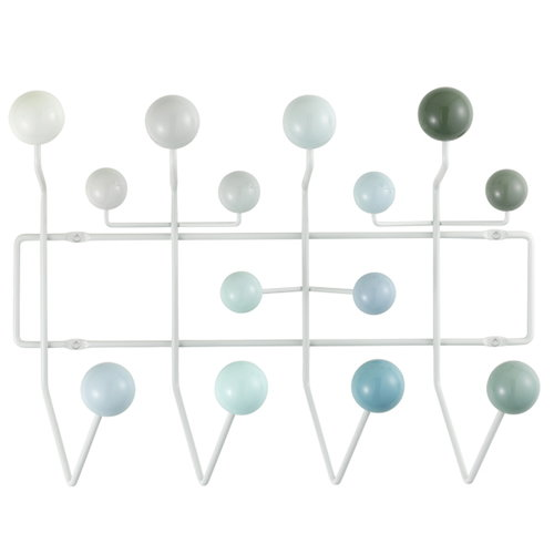 Vitra Hang it all coat rack, light blue