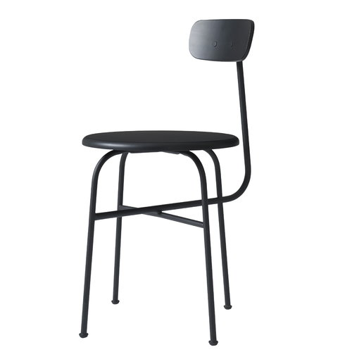 Menu Afteroom tuoli 4, musta