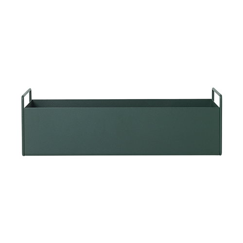 Ferm Living Plant Box, small, dark green