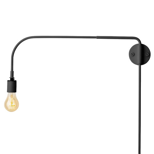 Menu Tribeca Warren wall lamp, black