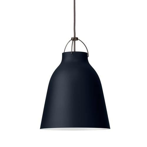 Lightyears Caravaggio P2 pendant, dark ultramarine, 3 m cord