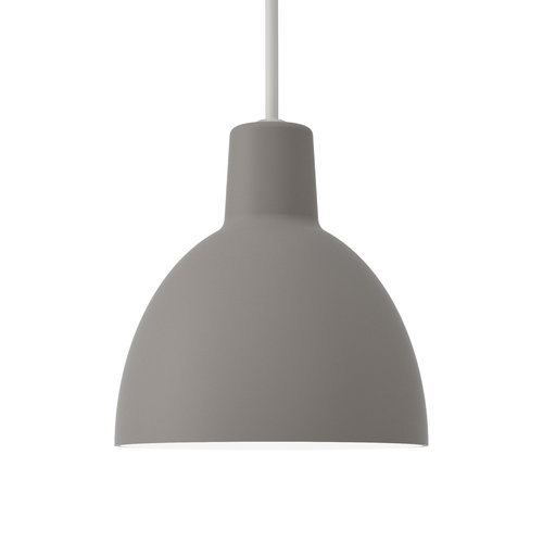 Louis Poulsen Toldbod 120 pendant, light grey
