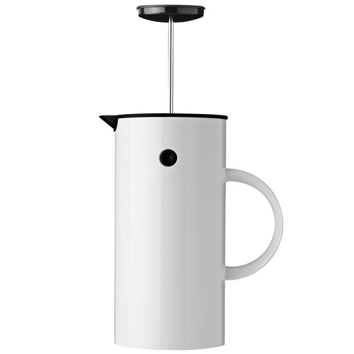 Stelton EM press coffee maker, white