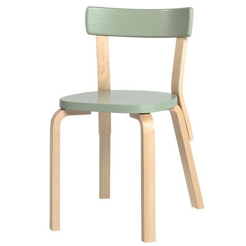 Artek Aalto chair 69, green