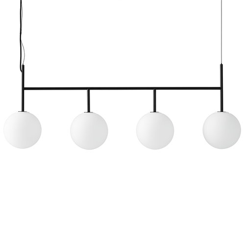 Menu TR Bulb pendant with frame, black