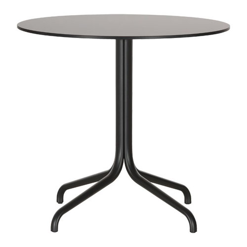 Vitra Belleville table, round, black