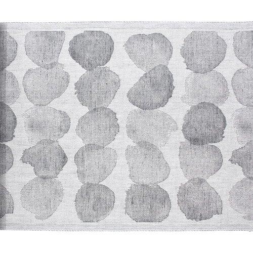 Lapuan Kankurit Sade seat cover 46 x 60 cm, white-grey