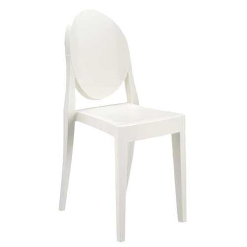 Kartell Victoria Ghost chair, white