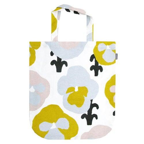 Kauniste Orvokki tote bag, yellow